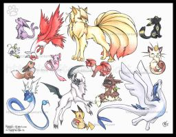 My favorite Pokemon by Shivita