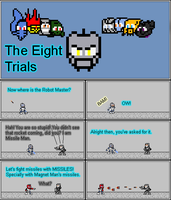 8 Trials Saga: Missile Man Part 1 by Color17