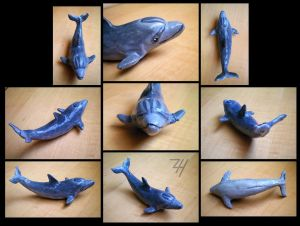 First Polymer Dolphin By Zoehildebrand-r by ClayfrommyHeart