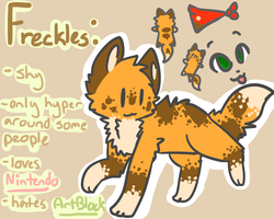 . : Freckles REFF : . by Freckled-Kat