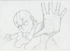 Avatar Aang by Chama552