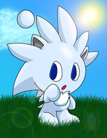 Silver Hedgehog chao by Zipo-Chan