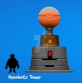 Nanobot Tower Update by jagama42