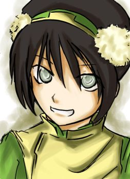 Earth Master Toph by pichinayu