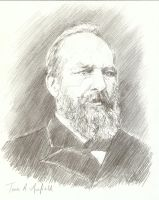 James Garfield 20th US Pres. by bcstroud