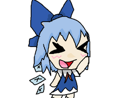 Cirno by MienfooInTraining