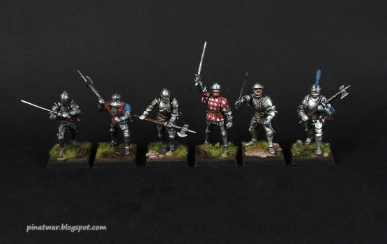 Perry Miniatures Foot Knights 1450-1500 by KorNat