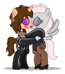 [COMM] Chloe and Violet by CyberApple456