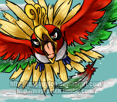 Ho-Oh by MayaPatch