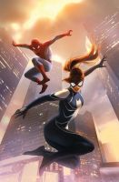 Spider-Girl Vol 2 by Haseo1970