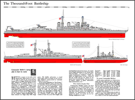 The 1,000 foot battleship by tacrn1