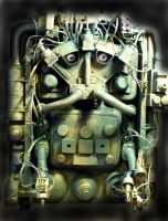 Robot 1 by bob-olley