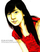 Eun Kyung Colored by istian18kenji
