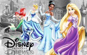 Disney Princess Wallpaper by Alce1977
