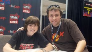 C2E2 2013 - Chandler Riggs by DooMGuy117