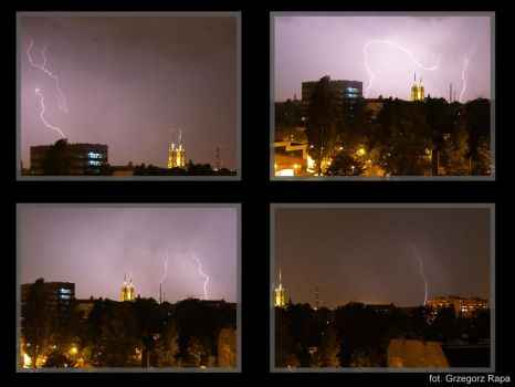 Flashes from my window by exozium