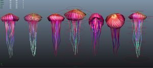 3D Jellyfish by hollywood714
