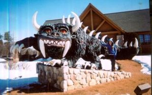 The Rhinelander Hodag by MoonPhantomWolf