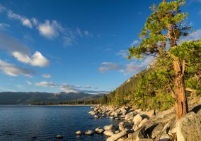 Lake Tahoe Sunset151020-14 by MartinGollery