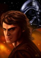 Anakin Skywalker / Darth Vader by SpeedRain