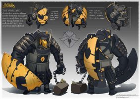Vanguard - Champion Project by CaconymDesign