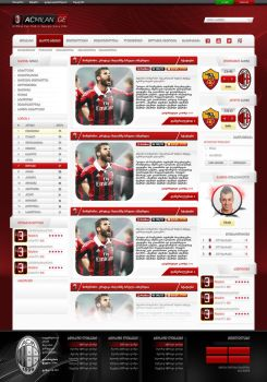 Acmilan.ge Template by ZincH21