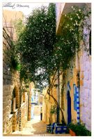 Tsfat- the old town 4 by ShlomitMessica