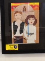 Han Solo and Leia fanart by Simpsonsfanatic33