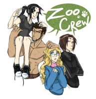 Gaara Commission: Zoo Crew by Little-Imp-Rin