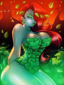 POISON IVY Collab by AnyaUribe