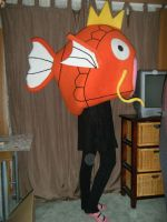 Magikarp costume by spookysculpter