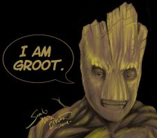 I AM GROOT by neilak20