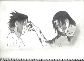 Itachi's Death by Zrucci