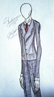 Slenderman~ by randomdrawerchic