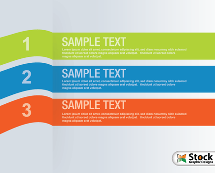 Number List Infographic Banner Vector by Stockgraphicdesigns