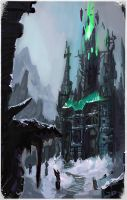 Frozen Castle by Minionslayer