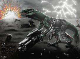 Raptor Wars remastered 4000x2939 by Unreal-Forever