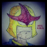 Napkin Art 200 - Nova - Ultimate Spiderman by PeterParkerPA