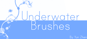 Underwater Brushes by Yun-Zhen