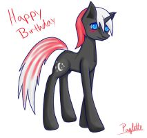 Midnight's Final Birthday Gift by Paylette