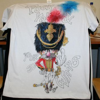 Hussar soldier t-shirt by loid