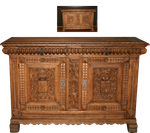 cabinet commode middle ages precut by Nexu4