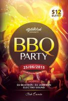BBQ Party Flyer by styleWish