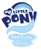 MLP Commission 1/2 - Snow Flower is Best Pony by MLPBlueRay
