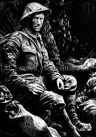 First World War Soldier by Kalasinar