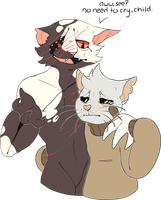 gay cat otp by mute-owl