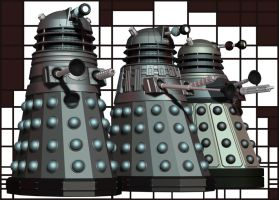 Dalek Evolution by Librarian-bot