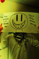 Shut up and smile by Ricard08