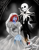 Jack and Sally's Wedding by Juacamo