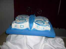 my Absolem cake by my-sweet-madness